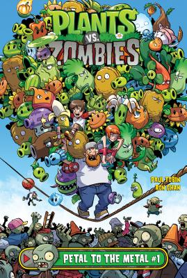 Petal to the Metal #1 (Plants vs. Zombies #1) Cover Image