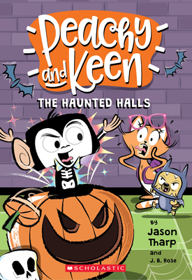 The Haunted Halls (Peachy and Keen) Cover Image
