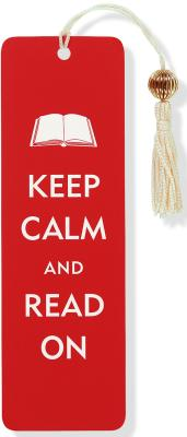 Beaded Bkmk Keep Calm/Read on Cover Image