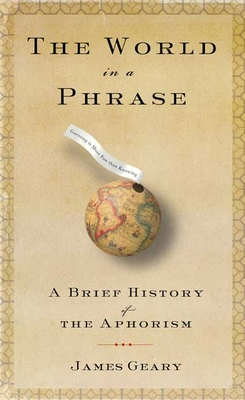 Cover for The World in a Phrase