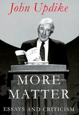 More Matter: Essays and Criticism Cover Image