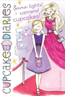 Emma: Lights! Camera! Cupcakes! (Cupcake Diaries #19) Cover Image