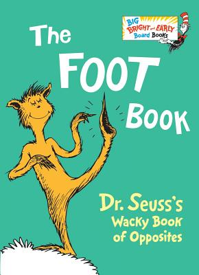 The Foot Book (Big Bright & Early Board Book) Cover Image
