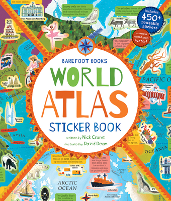 Barefoot Books World Atlas Sticker Book Cover Image