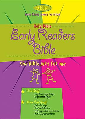 Early Readers Bible-NKJV Cover Image