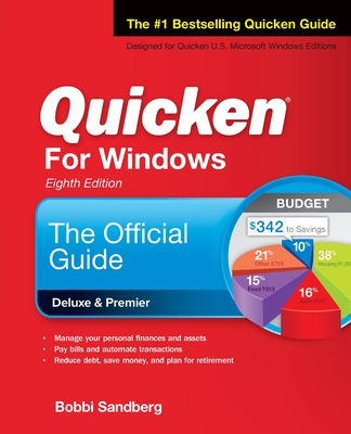 Quicken for Windows: The Official Guide, Eighth Edition Cover Image
