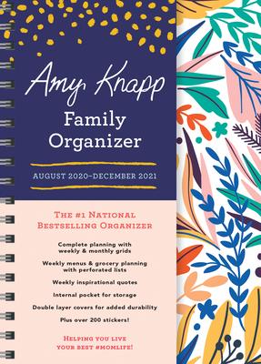 2021 Amy Knapp's Family Organizer: August 2020-December 2021 Cover Image