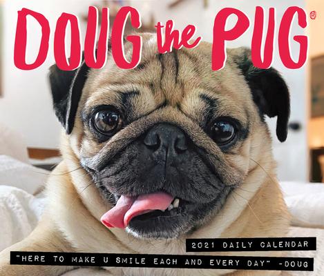 Doug the Pug 2021 Box Calendar (Dog Breed Calendar) Cover Image