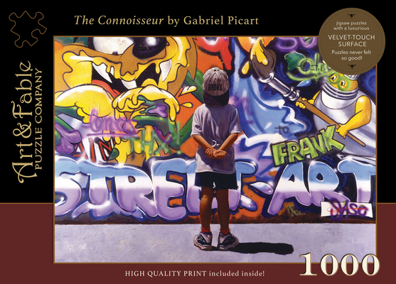 The Connoisseur: 1000 Piece Jigsaw Puzzle [With Print] Cover Image