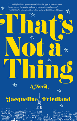 That's Not a Thing Cover Image