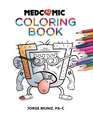 Medcomic: Coloring Book Cover Image