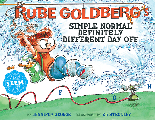 Cover for Rube Goldberg's Simple Normal Definitely Different Day Off (Rube Goldberg's Simple Normal)