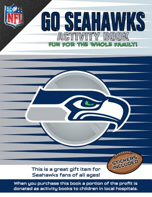 Go Seahawks Activity Book Cover Image