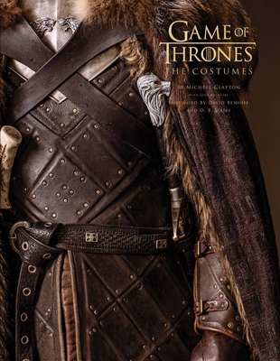 Game of Thrones: The Costumes, the official book from Season 1 to Season 8 Cover Image