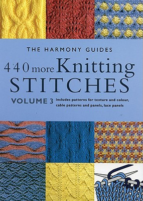 440 More Knitting Stitches Cover