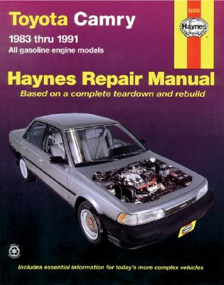 Toyota Camry, 1983-1991 (Haynes Manuals) Cover Image