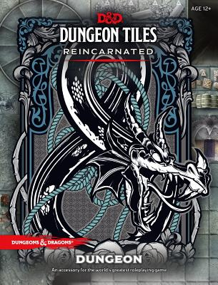 D&D DUNGEON TILES REINCARNATED: DUNGEON (Dungeons & Dragons) Cover Image