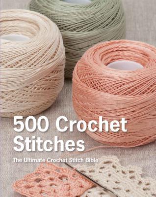 500 Crochet Stitches Cover