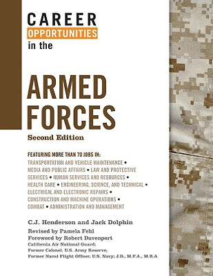 Cover for Career Opportunities in the Armed Forces