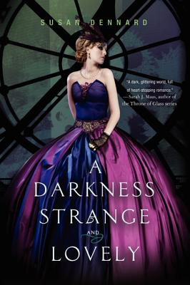 A Darkness Strange and Lovely (Something Strange and Deadly Trilogy #2) Cover Image