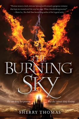 The Burning Sky (Elemental Trilogy #1) Cover Image