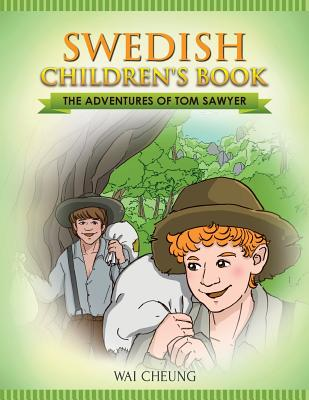 Swedish Children's Book: The Adventures of Tom Sawyer Cover Image