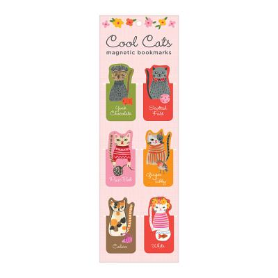 Cool Cats Magnetic Bookmarks Cover Image
