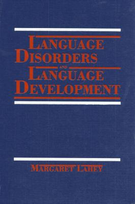 Language Disorders and Language Development Cover Image