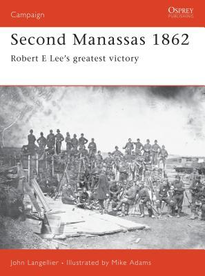 Second Manassas 1862 Cover