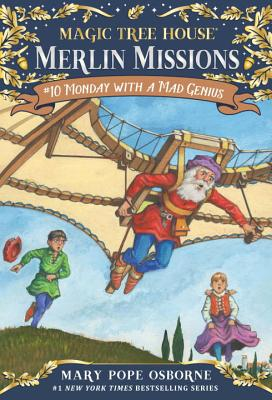 Monday with a Mad Genius (Magic Tree House (R) Merlin Mission #10) Cover Image