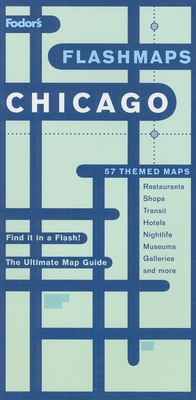 Fodor's Flashmaps Chicago Cover