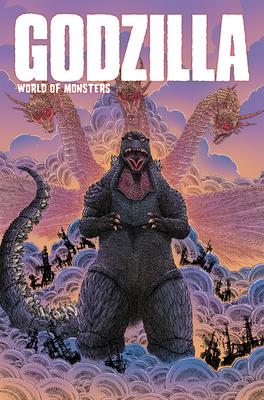 Godzilla: World of Monsters Cover Image