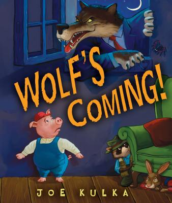 Cover for Wolf's Coming!