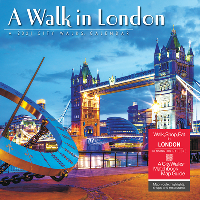 A Walk in London 2021 Wall Calendar Cover Image