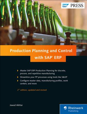 Production Planning and Control with SAP Erp Cover Image