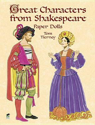 Great Characters from Shakespeare Paper Dolls Cover Image
