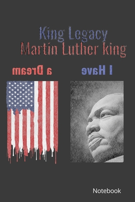 Martin luther king Notebook: martin luther king day notebook Cover Image