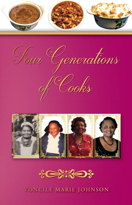 Four Generations of Cooks: Cookbook Cover Image