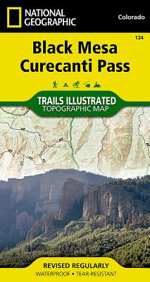 Black Mesa, Curecanti Pass (National Geographic Maps: Trails Illustrated #134) Cover Image