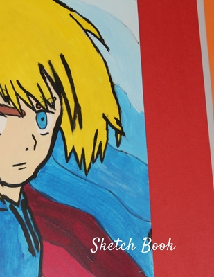 Sketch Book: Japanese Anime Themed Personalized Artist Sketchbook For Drawing and Creative Doodling Cover Image