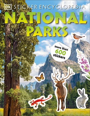Sticker Encyclopedia National Parks Cover Image