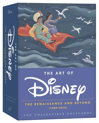 The Art of Disney: The Renaissance and Beyond (1989 - 2014) 100 Collectible Postcards (Disney Postcards, Cute Postcards for Mailing, Fun Postcards for Kids) Cover Image