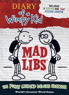 Diary of a Wimpy Kid Mad Libs: The Fully Löded Deluxe Edition Cover Image