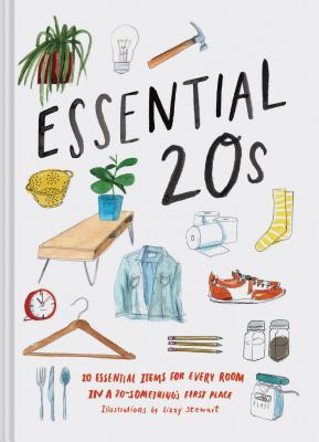 Essential 20s: 20 Essential Items for Every Room in a 20-Something's First Place (Gifts for Recent Grads, Gifts for Young People, Easy Home Design Books) Cover Image