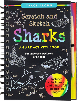 Scratch & Sketch(tm) Sharks (Trace Along) Cover Image