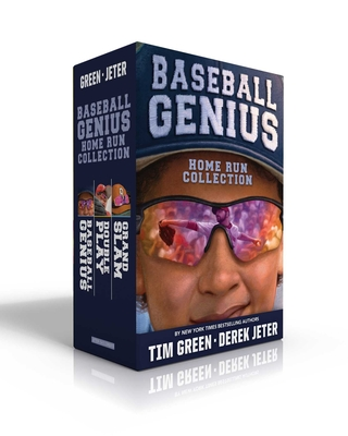 Baseball Genius Home Run Collection: Baseball Genius; Double Play; Grand Slam (Jeter Publishing) Cover Image