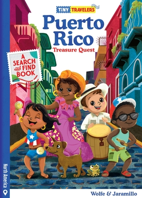 Tiny Travelers Puerto Rico Treasure Quest Cover Image