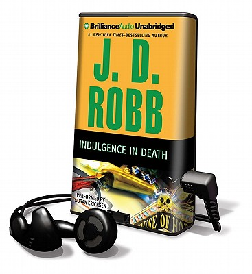 Indulgence in Death [With Earbuds] (Playaway Adult Fiction) Cover Image