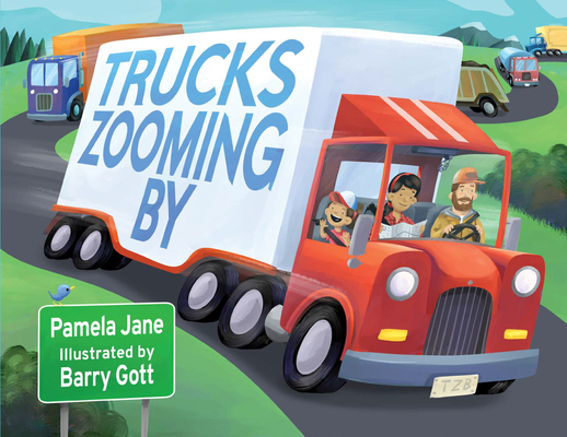 Trucks Zooming by Cover Image