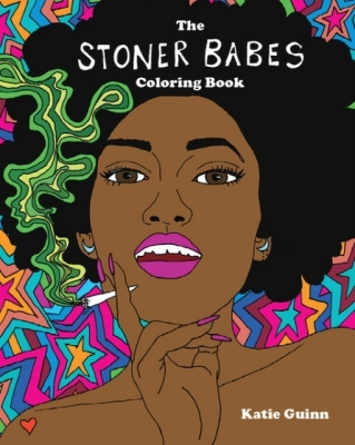 Stoner Babes Coloring Book Cover Image